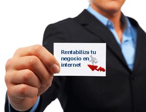 Rentabiliza tu negocio en internet